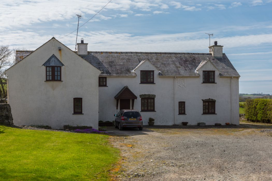 detached welsh farm house which was converted into a dwelling in the 1980's.