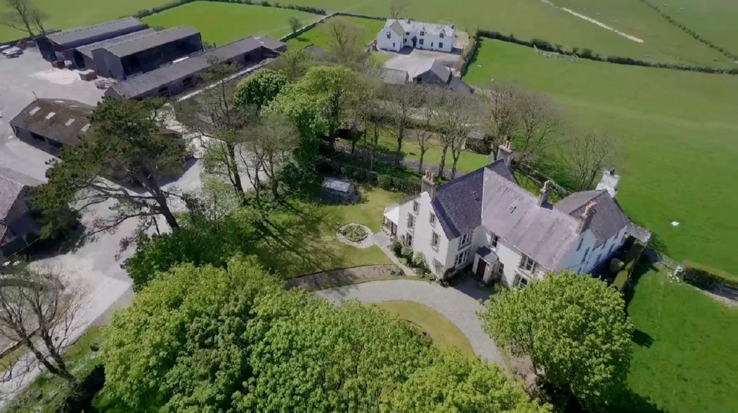 Substantial Period Residence, with attached two bedroom cottage, a four bedroom farmhouse, a range of traditional agricultural buildings