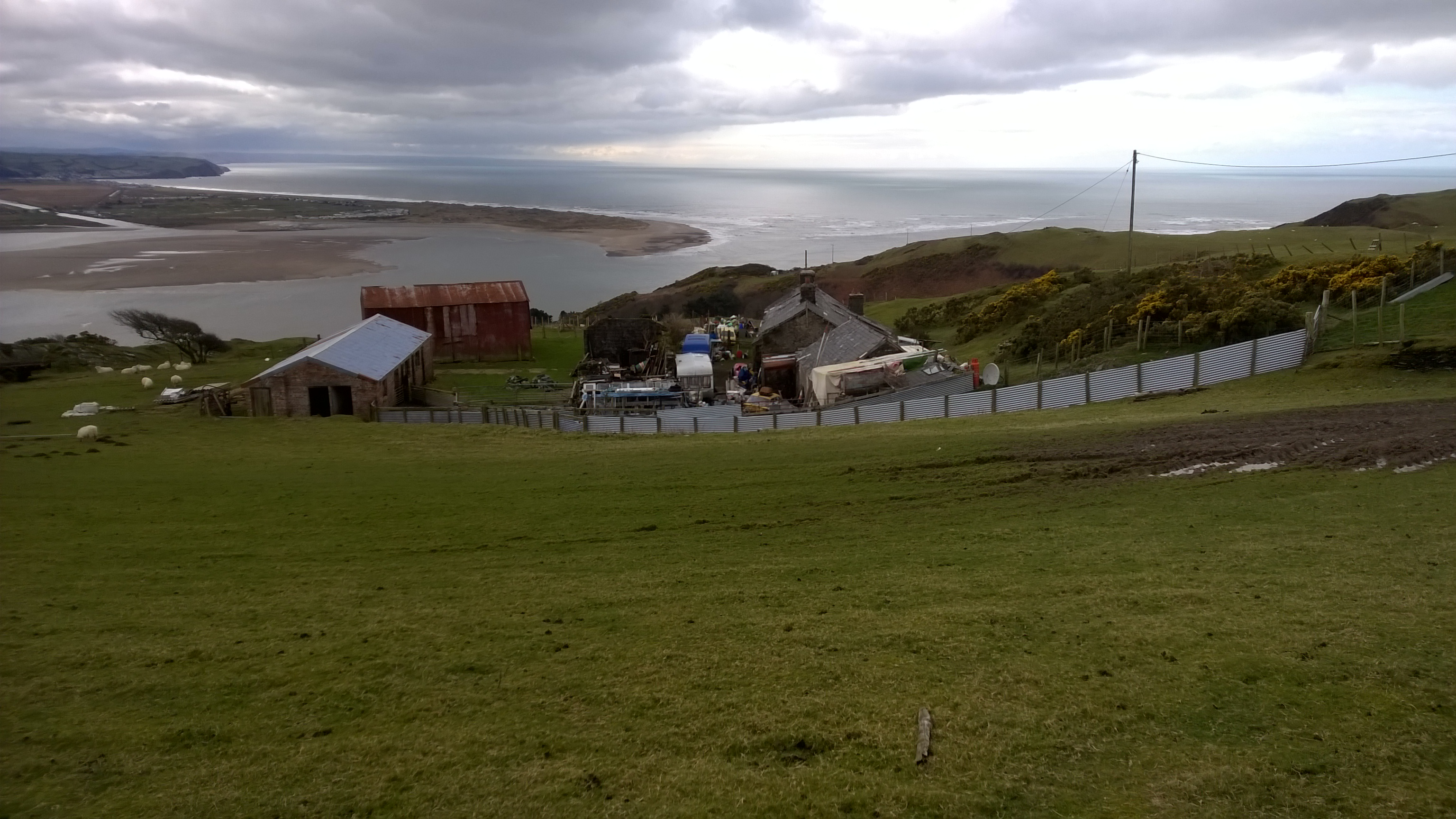 Development Potential, 59 Acres Coastal Farm, Investment Opportunity | Penhelig Uchaf